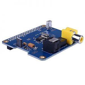 купить SC07 Raspberry Pi HIFI DiGi+ Цифровая звуковая Карта SPDIF I2S для Raspberry pi