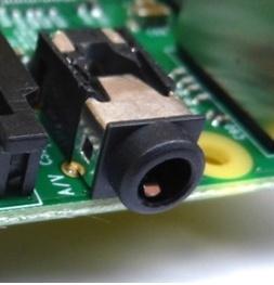 Raspberry pi AV выход