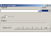 Win32DiskImager для записи образов raspberry pi