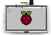 5 дюймов сенсорный экран для Raspberry Pi