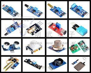 Комплект из 16 разных датчиков для Raspberry Pi