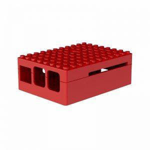 красный ABS корпус (имитация Lego) для Raspberry Pi 3
