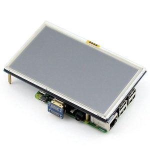 5 дюймов LCD HDMI Сенсорный Экран TFT LCD 800*480 для Raspberry Pi описание : обзор