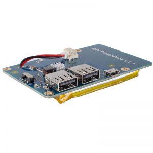 3800mAh 5V / 1.8A Литий-ионная батарея для Raspberry Pi 3 powerpack v1