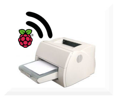 обычного принтера беспроводной принтер используя Raspberry Pi