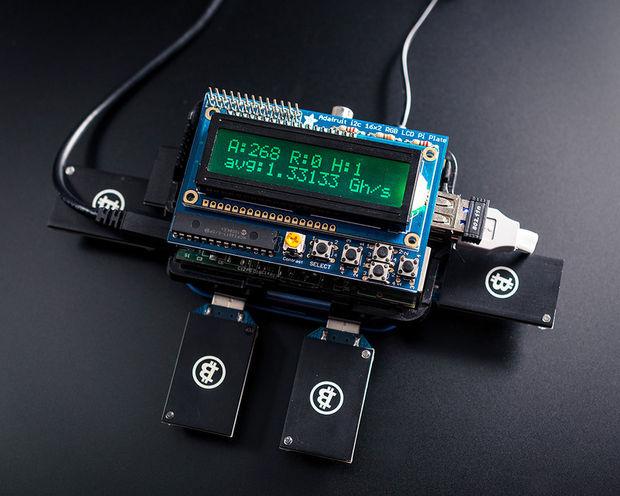 Майнинг Биткоинов с помощью Raspberry Pi