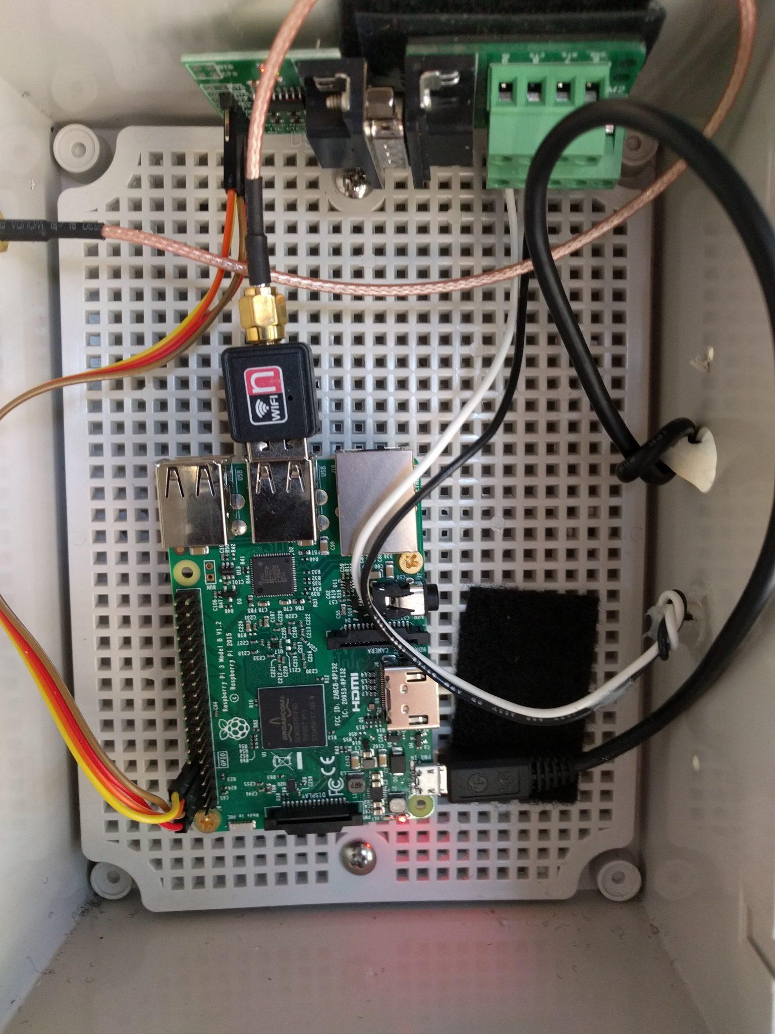 Raspberry Pi для мониторинга генератора