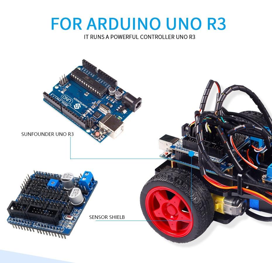 описание смарт авто робот на базе ардуино