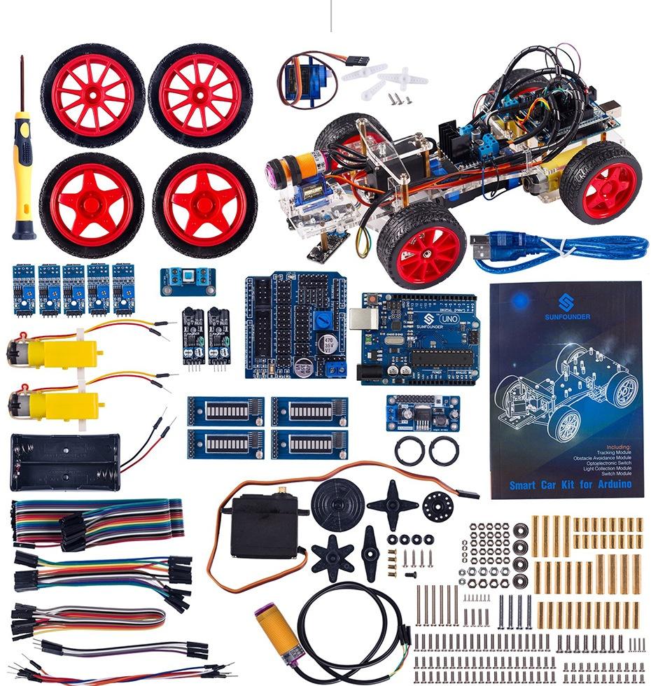 Комплект поставки Smart Car Kit for Arduino