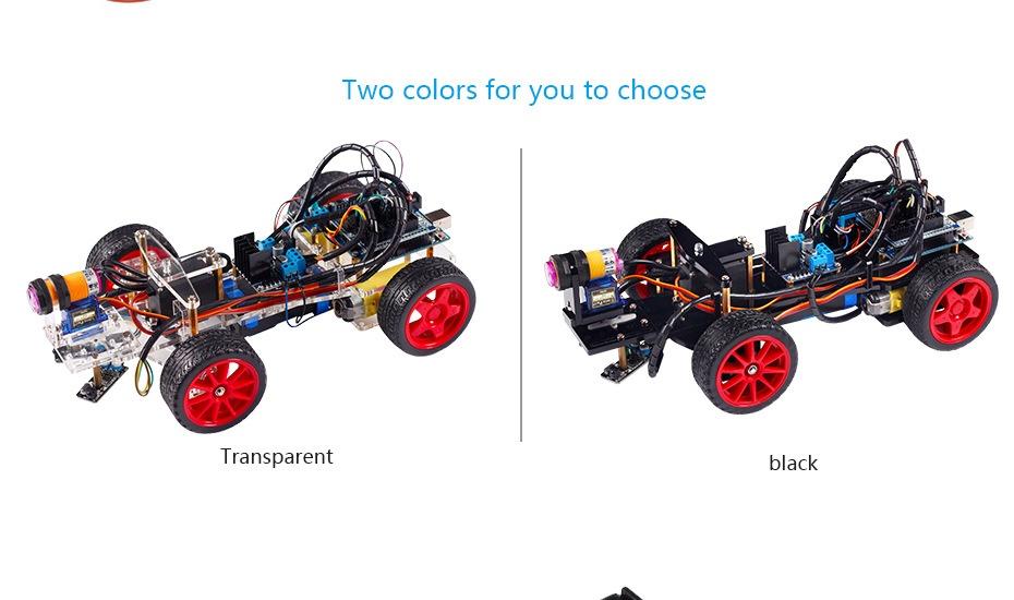 Два цветовых решения Smart Car Kit for Arduino