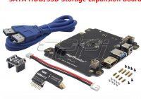 Плата расширения для Raspberry Pi для подключения 2.5 дюймов SATA HDD/SSD