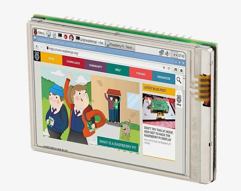 Сенсорный экран 2.8 дюймов для Raspberry Pi 3 или Zero W