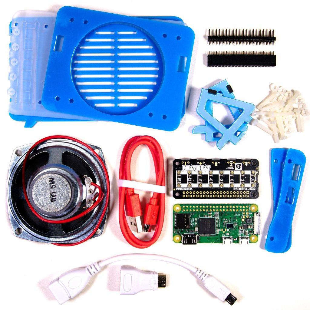 Содержание набораПиратское Радио - Проект на raspberry zero W