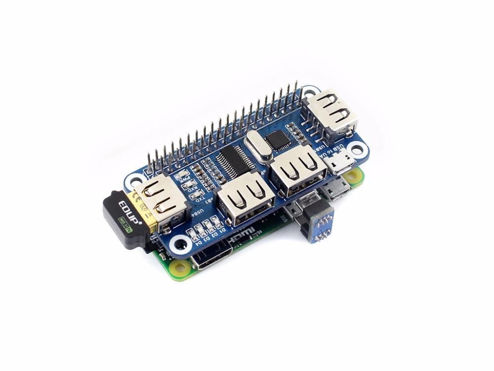 фото USB HUB для Raspberry Pi zero/zero w/b +/2b/3B