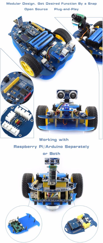 Примеры реализацииAlphaBot