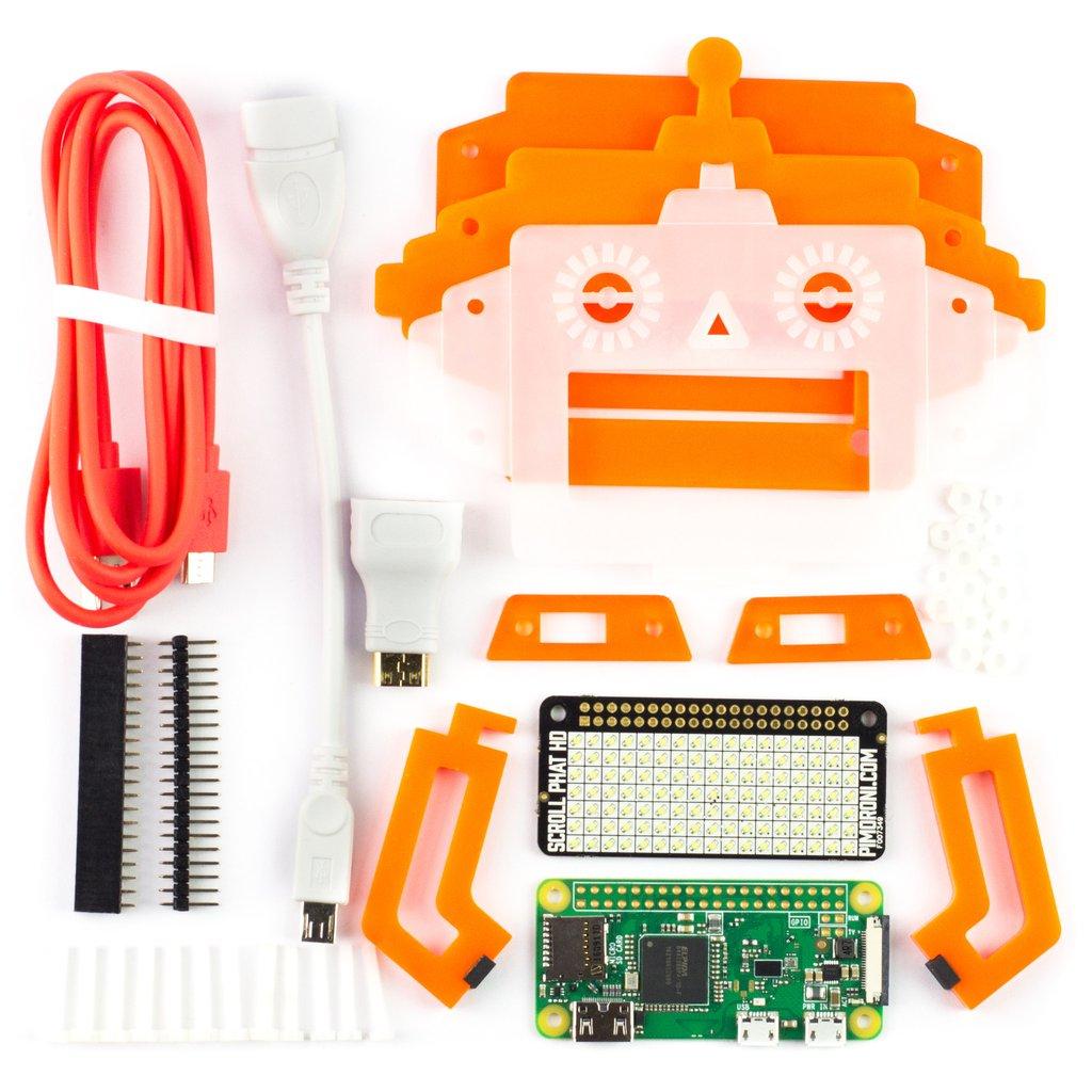 КомплектScroll Bot на raspberry zero w