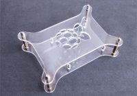 Прозрачный корпус с логотипом для Raspberry Pi