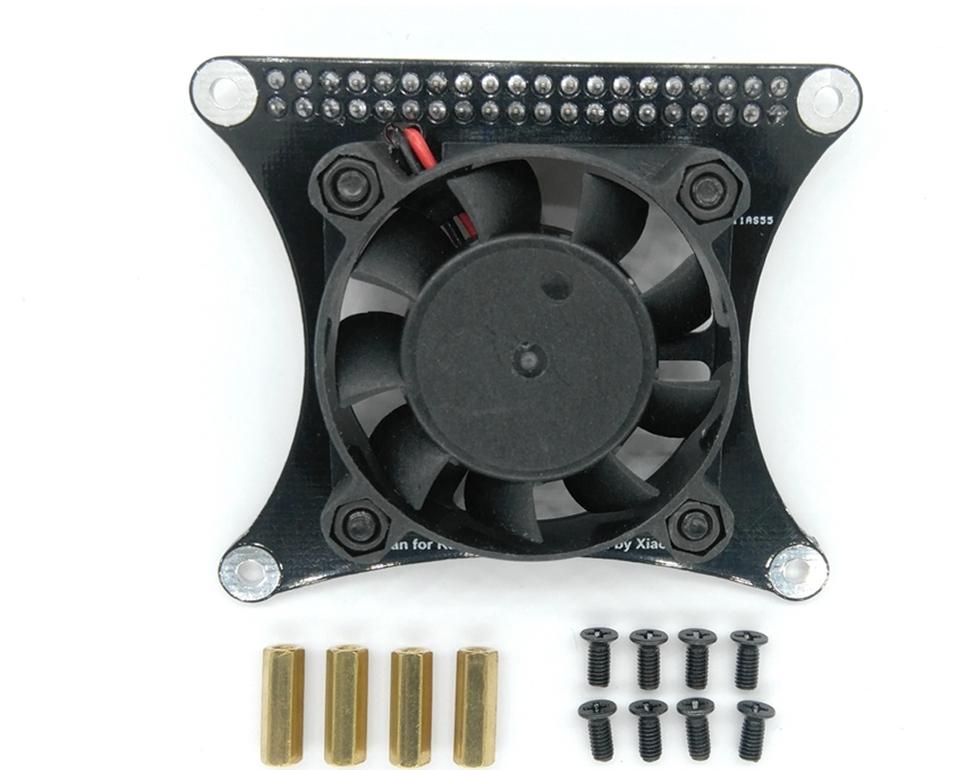 Бесшумный вентилятор для raspberry pi с контроллером оборотов через порт GPIO