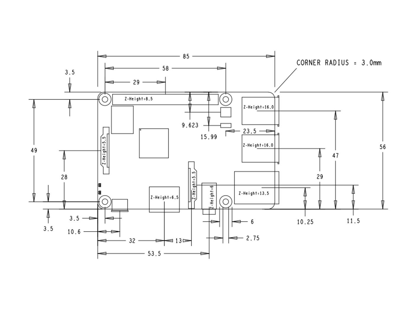 Технические характеристикиRaspberry Pi 3 Model B Plus