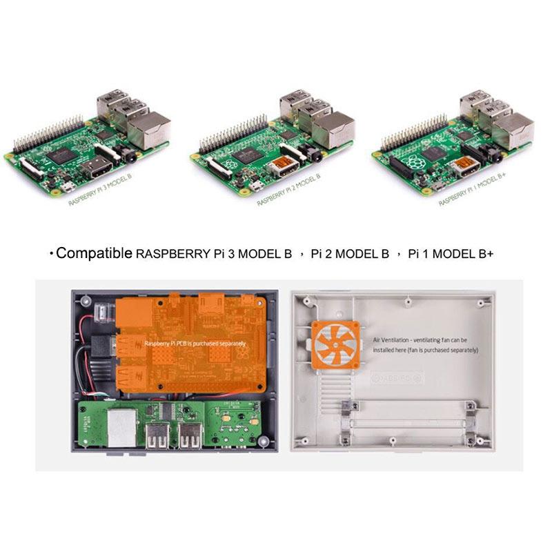 Особенностикорпуса для Raspberry Pi 3 DIY комплект с игровым контроллером
