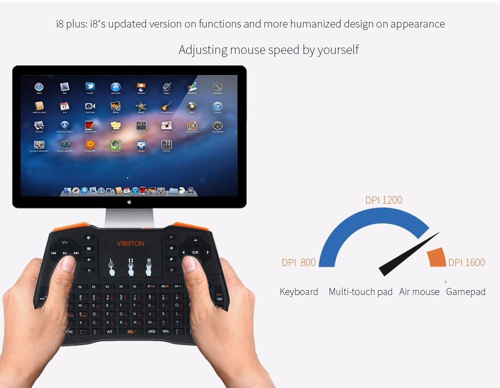 Особенности i8 беспроводной мини клавиатуры с тачпадом