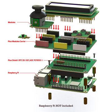 обзор Piplus 15 в 1 комплект для Raspberry Pi