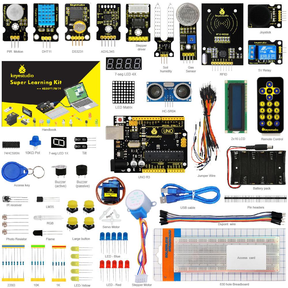 Starter Kit Комплект обучения для Arduino с 32 проектами