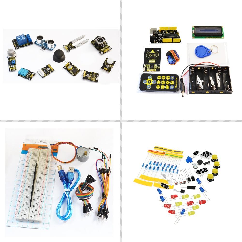 Список проектовКомплект обучения для Arduino UNO с 32 проектами