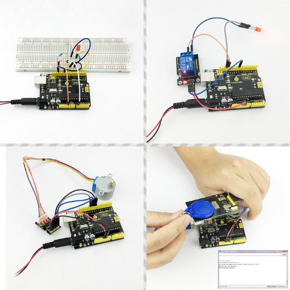 документация Комплекта обучения для Arduino UNO с 32 проектами