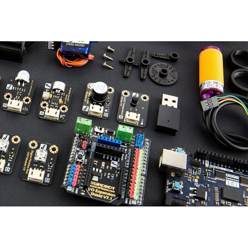 Стартовый комплект Starter Kit для Arduino/genuino 101 включает учебные материалы