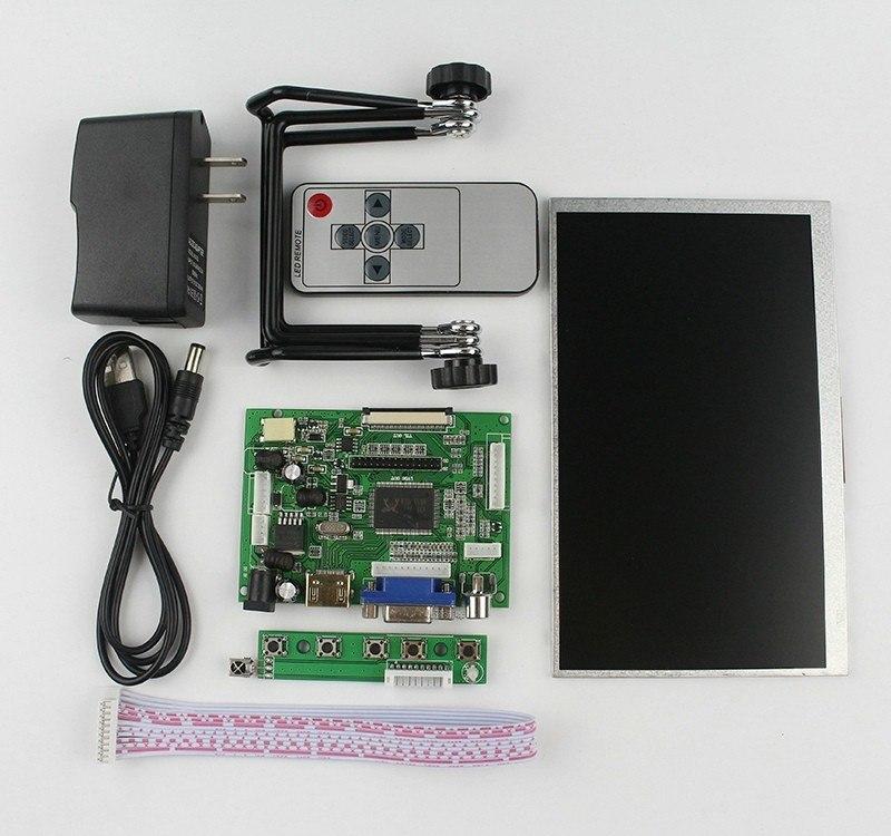 Особенности ЖК дисплей 7 дюймовый экран с пультом дистанционного управления для Raspberry Pi 3