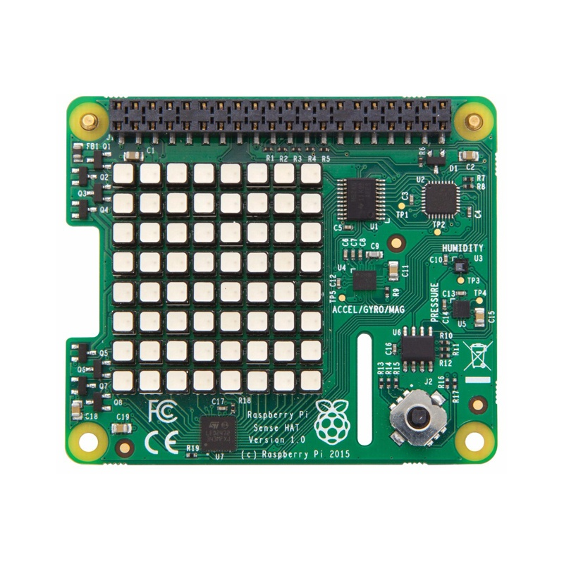 Описание Raspberry Pi Sense HAT