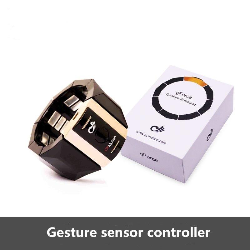 Купитьбраслет Gesture EMG Sensor Muscle Signal Control Armband