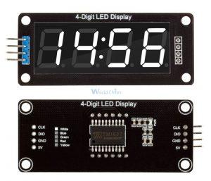 4-разрядный светодиодный дисплей 7 сегментов TM1637 для Arduino