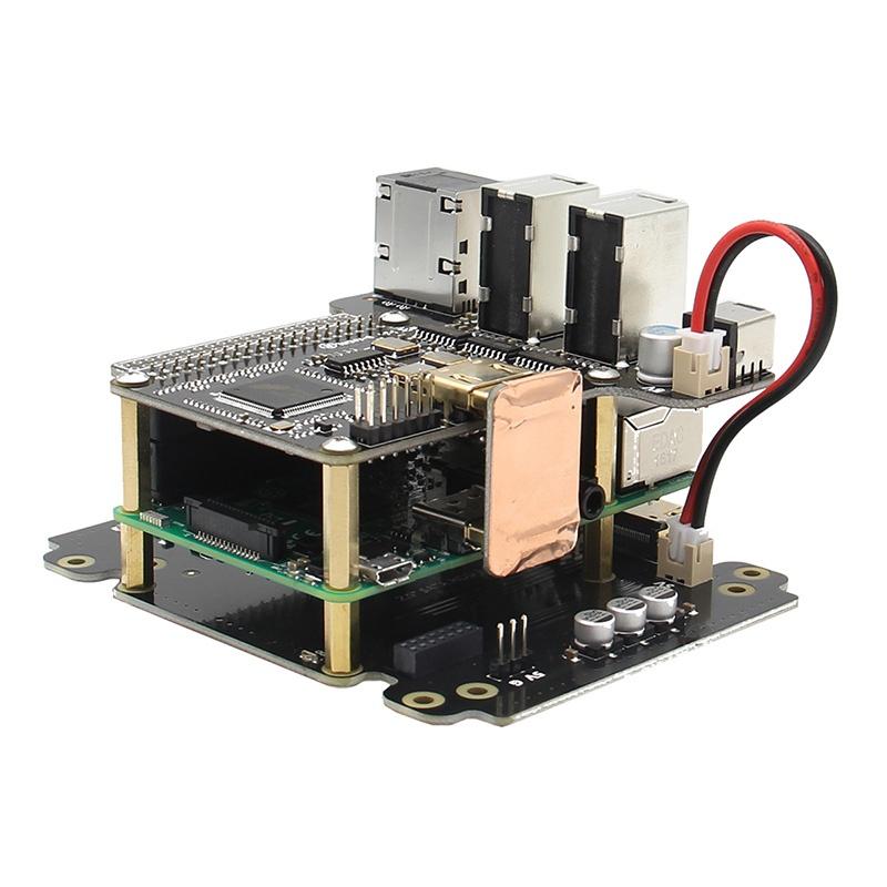 ПараметрыX6000 7.1 Hi-Fi аудио плата расширения для Raspberry Pi 3