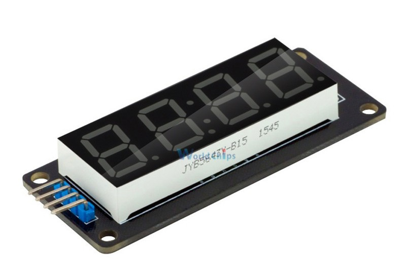Комплект поставкисветодиодного дисплея TM1637 для Arduino