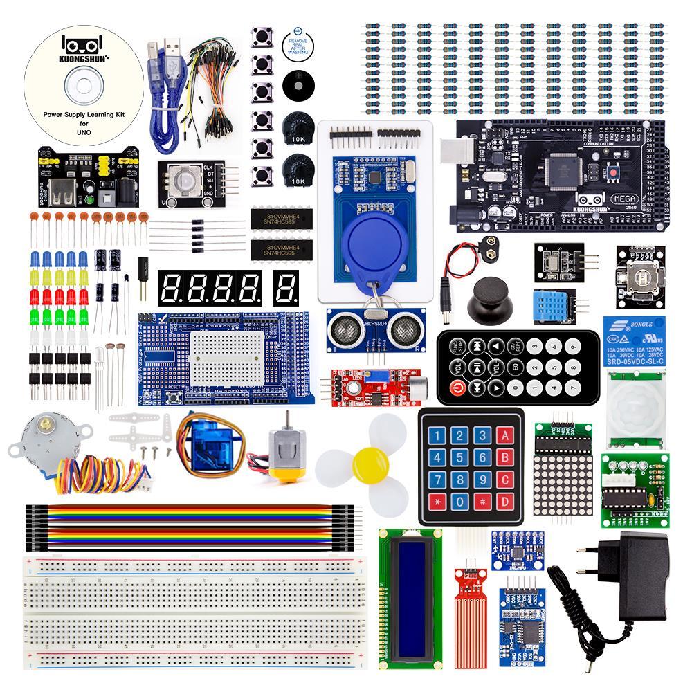 Описаниестартового комплекта с Arduino UNO Nano