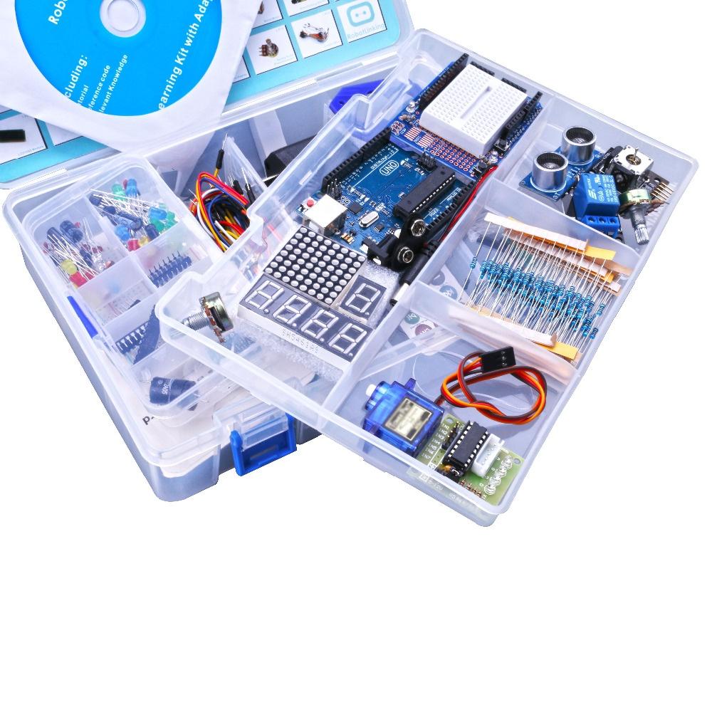 Комплект поставкиROBOTLINKING с arduino UNO R3