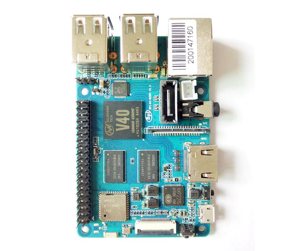 Banana Pi еще один микрокомпьютер размером с банковскую карту