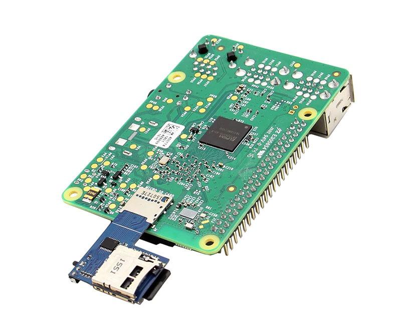 КупитьАдаптер карт памяти TF Micro SD 2 в 1 для Raspberry Pi