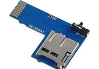 Адаптер карт памяти TF Micro SD 2 в 1 для Raspberry Pi