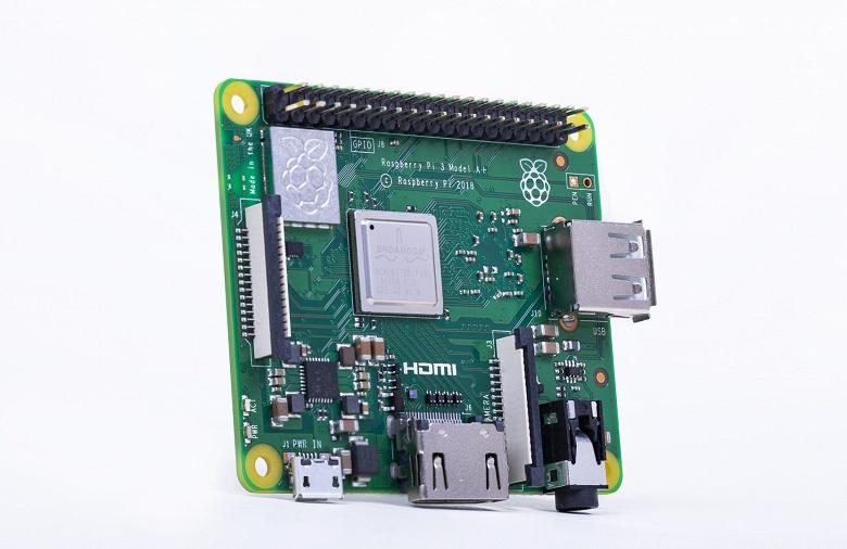 КупитьRaspberry Pi 3 Модель A +