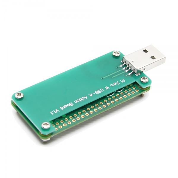 Сборкаплаты расширения Zero с USB разъемом