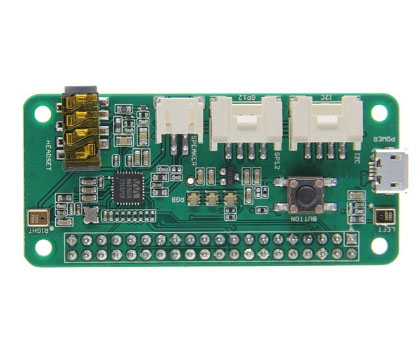Плата расширения ReSpeaker 2-Mics Pi HAT для Raspberry Pi