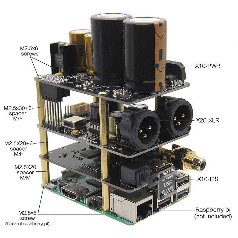 Комплект поставкиX20-XLR Hifi аудио комплект