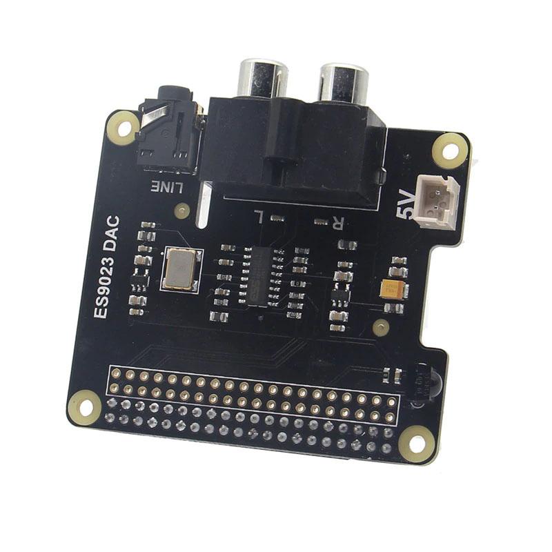 Особенности X900 HIFI ЦАП ES9023 платы расширения для Raspberry Pi