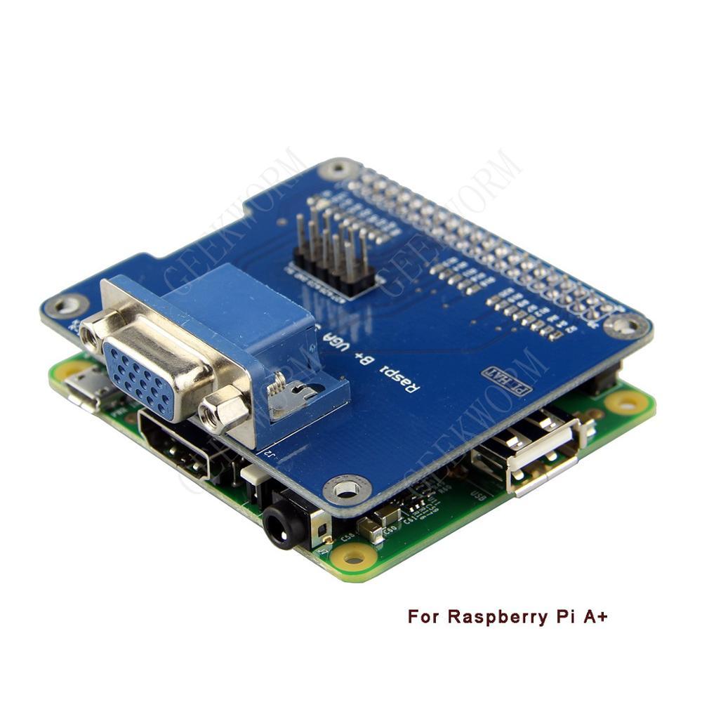 Совместимостьплаты расширения VGA интерфейс для Raspberry Pi