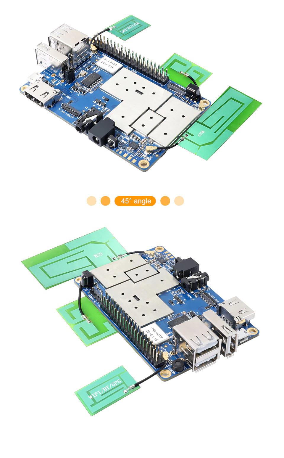 Купитьмикрокомпьютер Orange Pi 4G-IOT