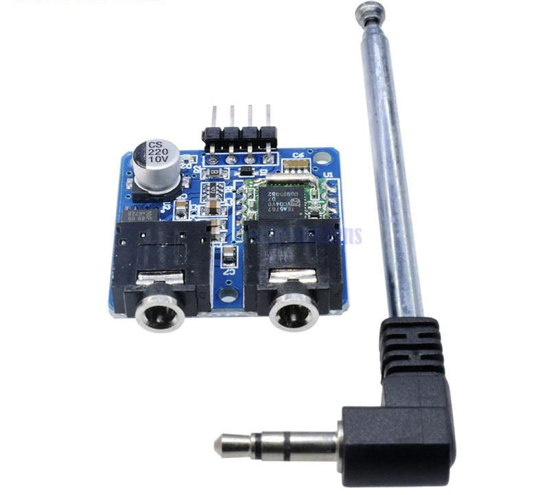 КупитьTEA5767 FM стерео радио модуль для Arduino