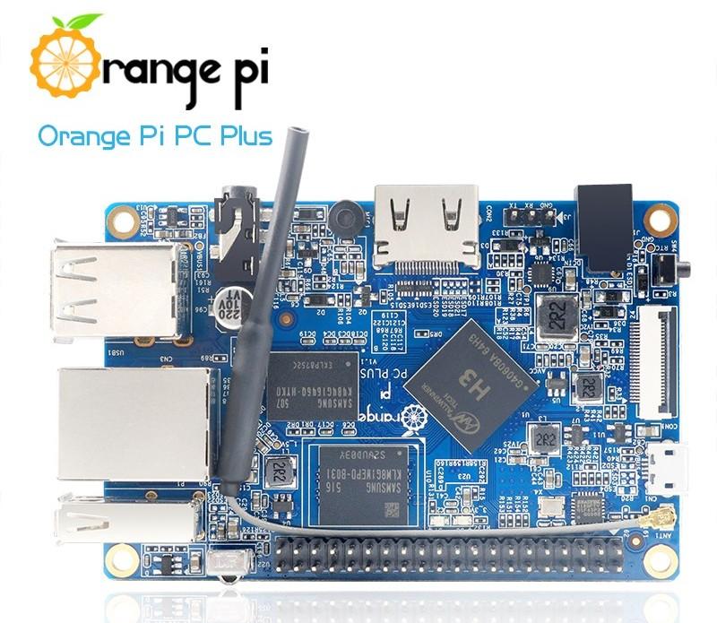Спецификация (hardware)Orange Pi PC Plus